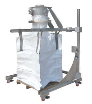 Bulk Bag Frame with Product Feeding Function