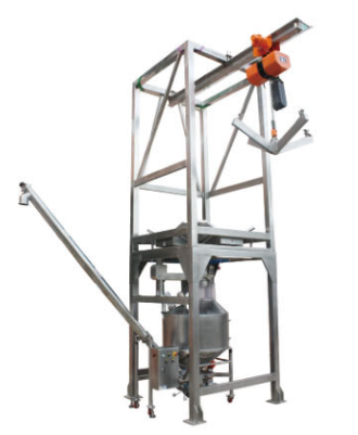 Bulk Bag Unloader & Auger Conveyor
