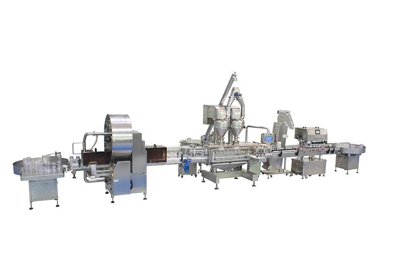 Automatic Double-Hopper Powder Filling Line