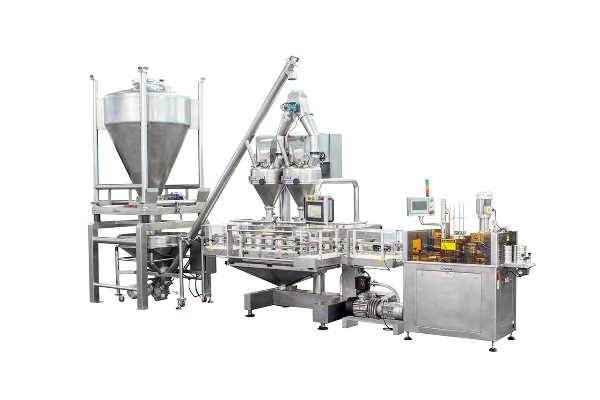 Automatic Double -Hopper Can Production Line