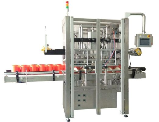 Multi-head Film Plastic Bottle Sealing Machine